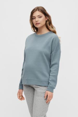 zwangerschapssweater PCMCHILLI grijsblauw