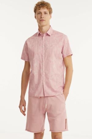 regular fit overhemd van biologisch katoen misty rose