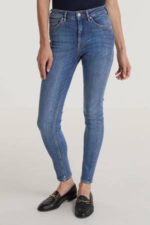 high waist regular fit jeans Haut blauw