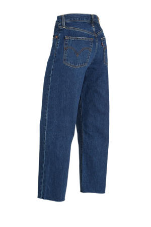 RIBCAGE STRAIGHT high waist straight fit jeans noe down
