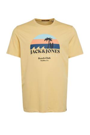 T-shirt Plus Size met logo sahara sun