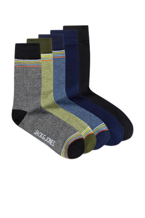 sokken Paul - set van 5 multi