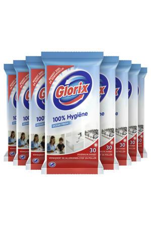 Glorix Original Schoonmaakdoekjes - 10 x 30 stuks - Voordeelverpakking