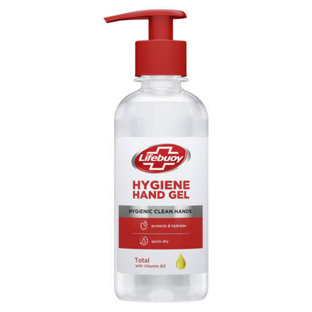 Lifebuoy Lifebuoy Sanitizer Gel pump - 8 x 250 ml - Voordeelverpakking