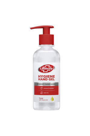 Lifebuoy Sanitizer Gel pump - 8 x 250 ml - Voordeelverpakking
