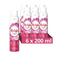 Robijn Robijn Dry WashSpray PinkSensation - 6 x 200 ml - voordeelverpakking - 25 wasbeurten