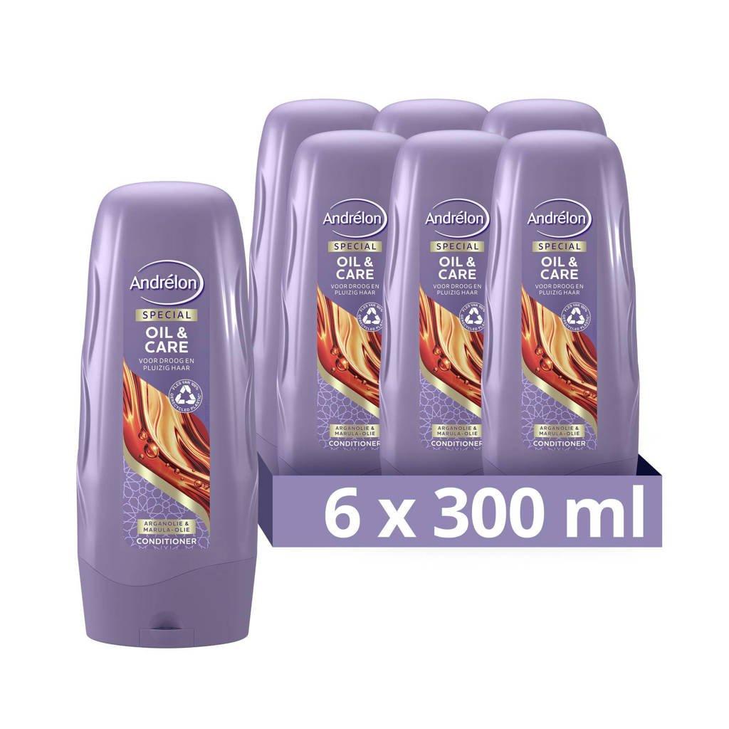 Andrelon Andrélon Special Oil & Care Conditioner 6 x 300 ml - Voordeelverpakking