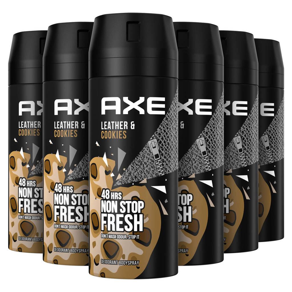 Axe Axe Collision Bodyspray Deodorant - 6 x 150 ml - Voordeelverpakking