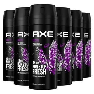 Axe Excite Bodyspray Deodorant - 6 x 150 ml - Voordeelverpakking