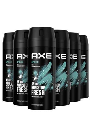 Axe Black Bodyspray Deodorant - 6 x 200 ml - Voordeelverpakking