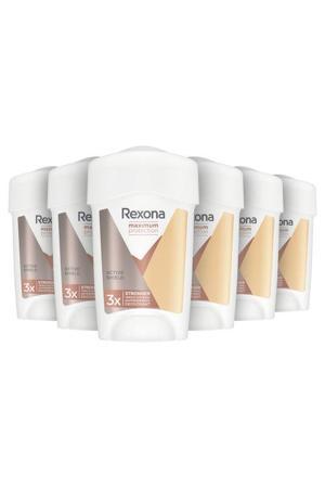 Rexona Women MaxPro Active Shield Deodorant - 6 x 45 ml - Voordeelverpakking