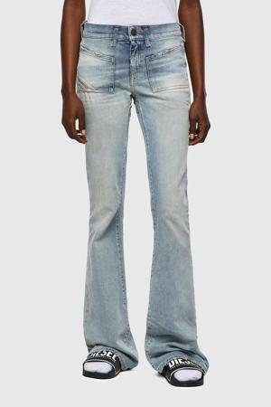 low waist flared jeans D-EBBEY-X light blue