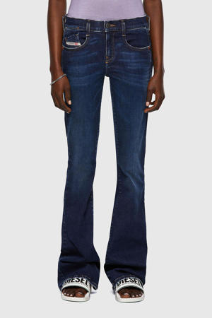 low waist bootcut jeans D-Ebbey dark denim