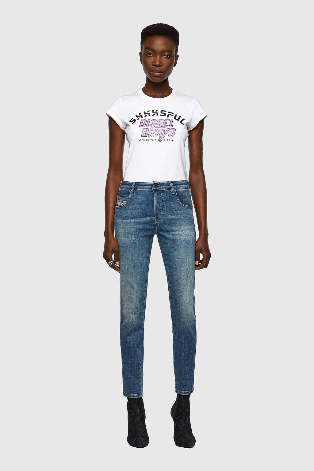 Diesel slim fit jeans blauw, Blauw