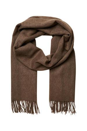 sjaal SLFTIME bruin