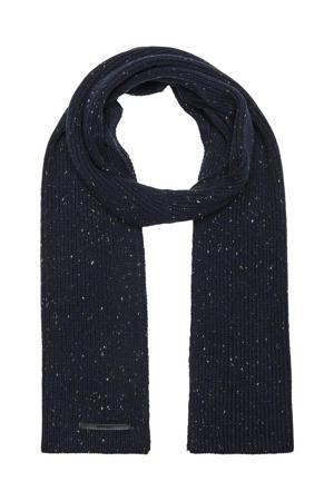 sjaal ONSFELIX donkerblauw