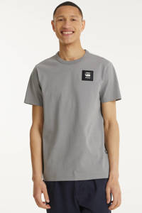 G-Star RAW T-shirt van biologisch katoen grijs, Grijs