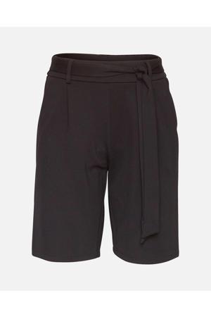 straight fit bermuda Popye zwart