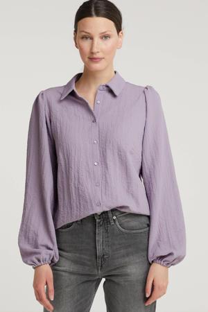 blouse lila