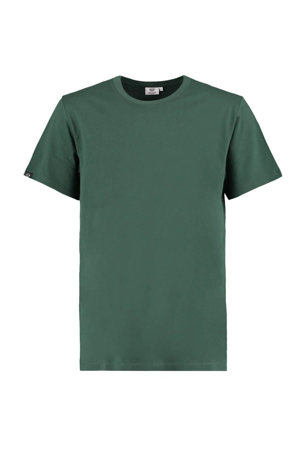 America Today T-shirt Eric van biologisch katoen groen, Groen