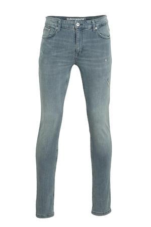skinny jeans grijs