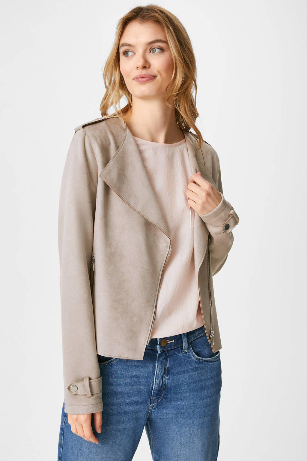 C&A The Outerwear  taupe, Taupe