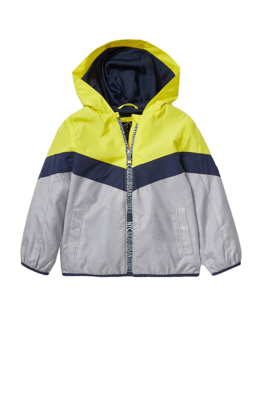 C&A Palomino  zomerjas geel/donkerblauw/lichtgrijs, Geel/donkerblauw/lichtgrijs