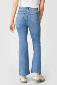 C&A Clockhouse high waist flared jeans blauw, Blauw