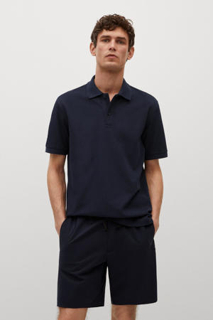 regular fit polo marine