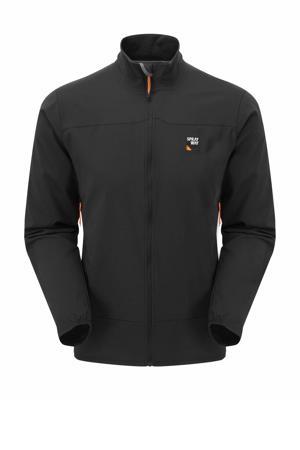 outdoor softshell jas Anax zwart