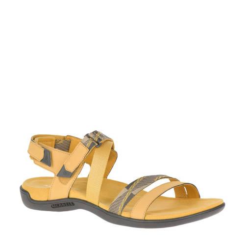 Merrell District Mendi sandalen geel