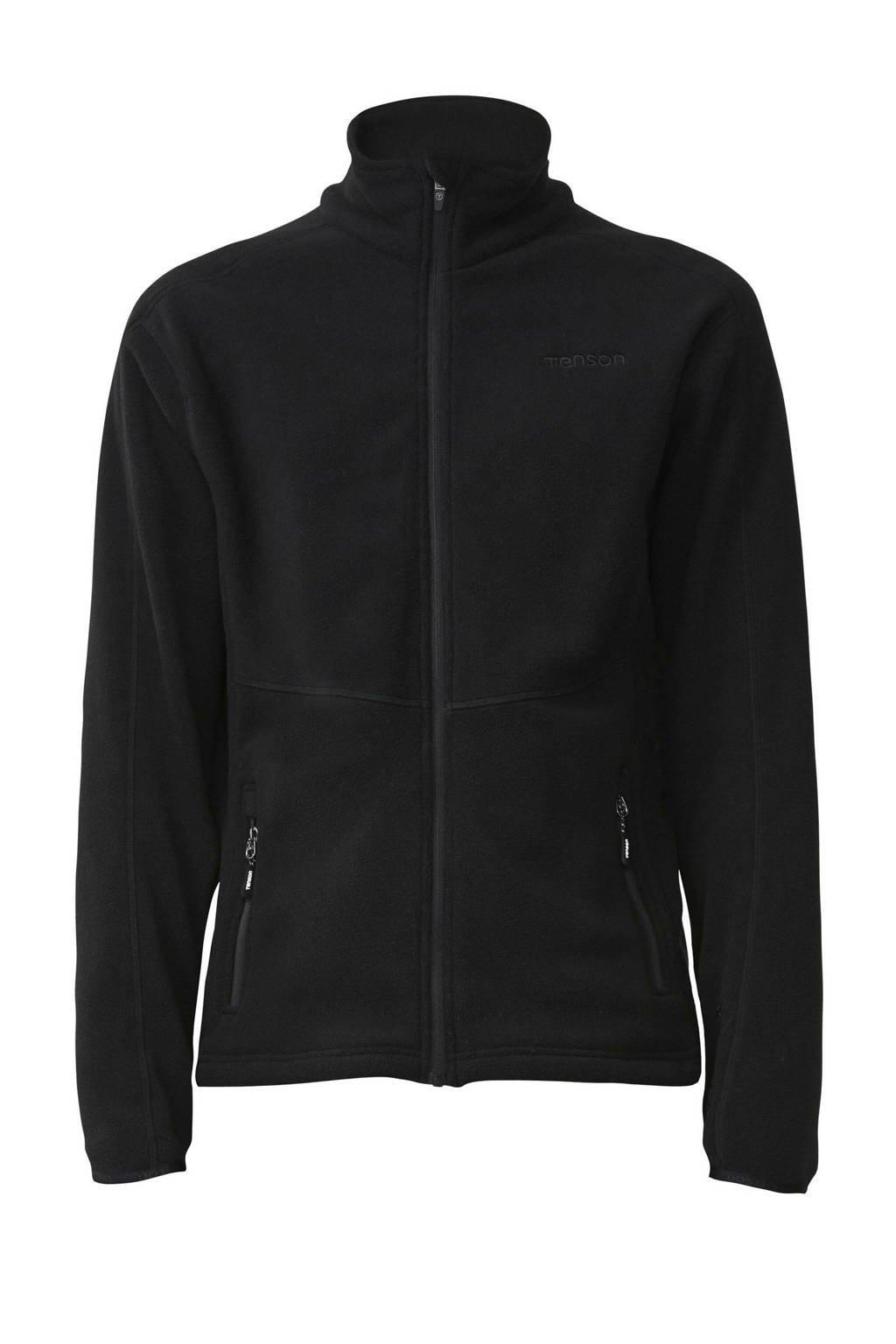 Tenson outdoor fleece vest Miracle zwart, Zwart