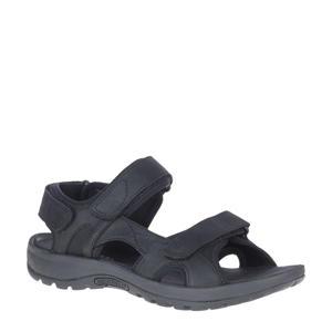 SandSpur 2 Convertible leren outdoor sandalen zwart