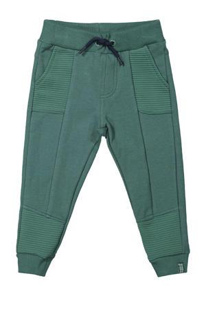 joggingbroek groen/donkerblauw