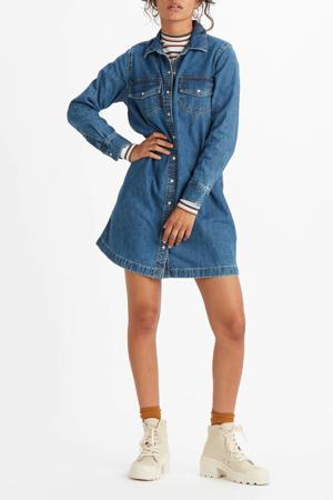 spijkerjurk SELMA DRESS blauw