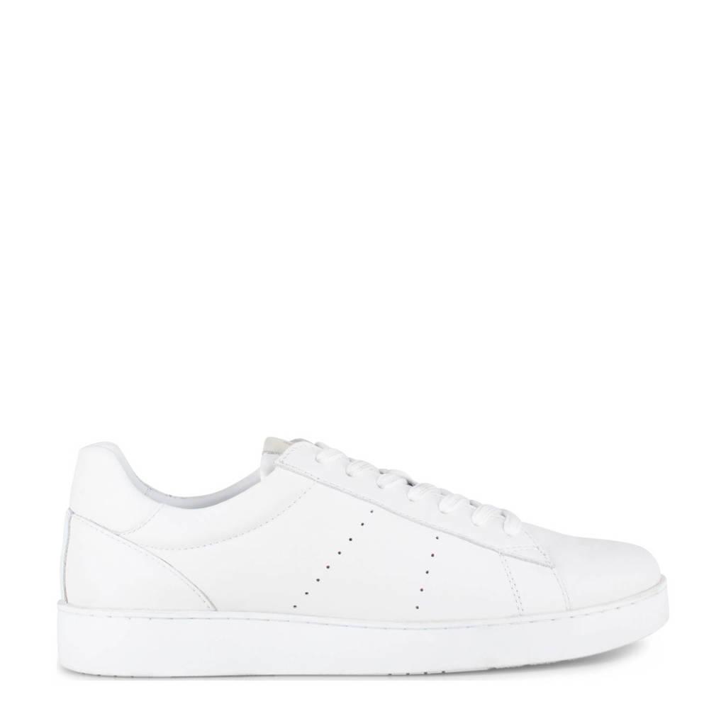 PS Poelman Bari  leren sneakers wit, Wit