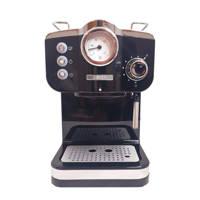 Zanussi EMZ17-SSB espresso apparaat, Zwart