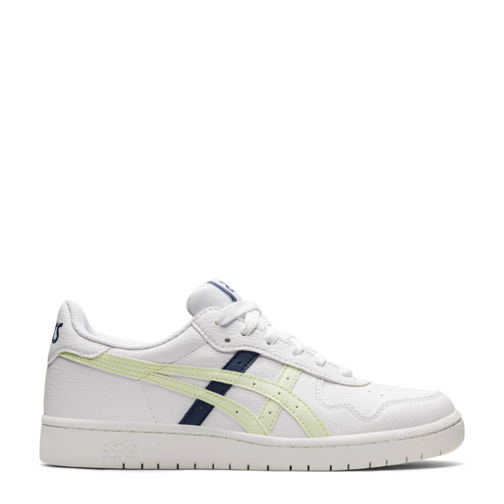 ASICS Japan S  sneakers wit/geel/donkerblauw, Wit/geel/donkerblauw