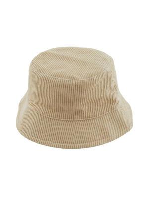 corduroy bucket hat LPHENNY beige