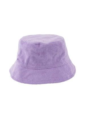 corduroy bucket hat Henny lila