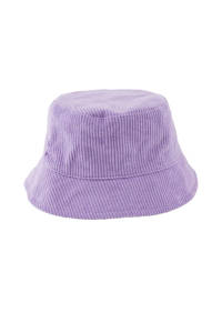 little PIECES corduroy bucket hat LPHENNY lila, Lila