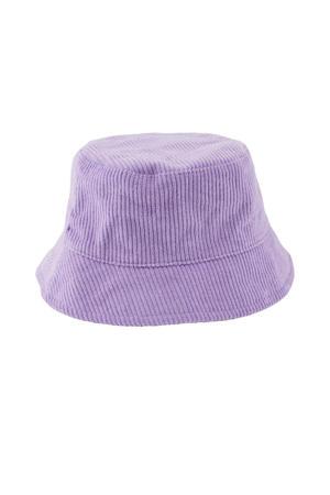 corduroy bucket hat LPHENNY lila