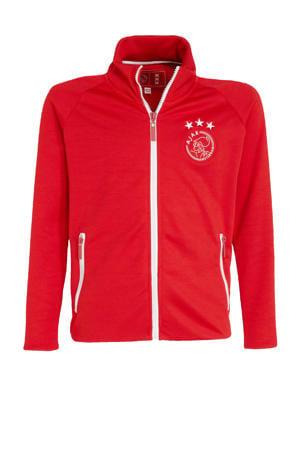 Ajax trainingsjack rood/wit