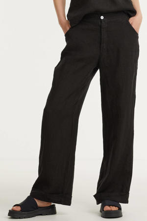 wide leg palazzo broek zwart