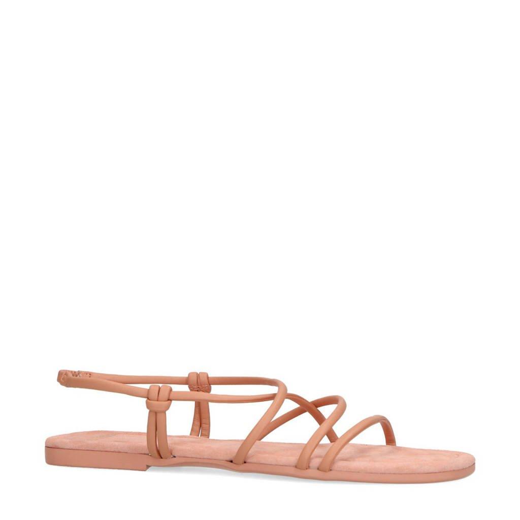 Manfield   sandalen lichtroze, Lichtroze