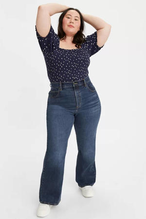cropped high waist flared jeans sonoma train plus