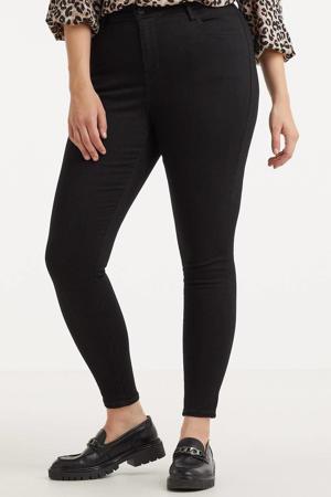 high waist super skinny jeans 720 high rise superskinny jeans black celestial - zwart