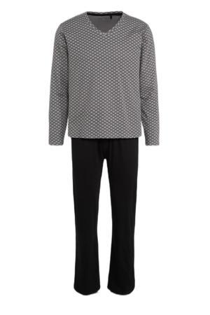 pyjama grijs/zwart