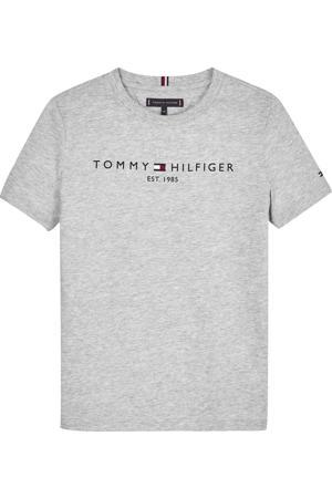 unisex T-shirt van biologisch katoen lichtgrijs melange