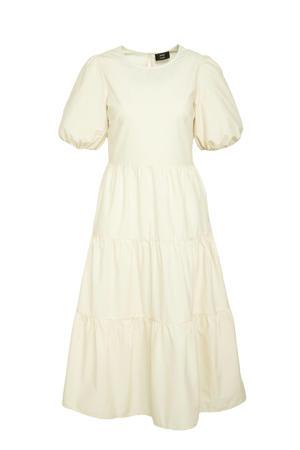 A-lijn jurk van biologisch katoen ecru
